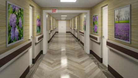 Hallway Rendering